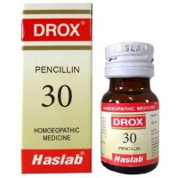 Haslab DROX 30 (Pencillin Drops - Allergy) (30ml) : Allergies, useful in Mild to High Temperature, Recurrent Boils