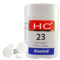 Haslab HC 23 (Rhus Tox Complex) (20g) : Relieves Pain in Arthritis, Sprains, Joint swelling, Muscle Cramps