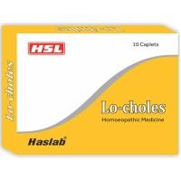 Haslab Lo-Choles Tab (10tab) : Controls High Cholesterol & Triglycerides, Control Hyper Lipidemia