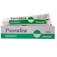 Haslab Psoralea Ointment (25g) : For White Discoloration of Skin, Vitiligo.