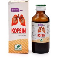 New Life Kofsin Syrup (100ml) : For Dry Cough, Breathlessness, Hoarseness, Tickling in Throat, Bronchitis