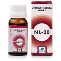 New Life NL-20 Vertigo & Nausia Drops (30ml) : For Vertigo, Motion Sickness, Car Sickness, Nausea, Vomiting, Headache