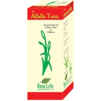 New Life NL-Alfalfa Syrup (100ml) : Maintain Health, Boosts Immunity, Energy, Stamina & Improves Appetite