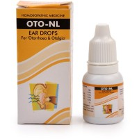 New Life Oto-NL Drops (10ml) : For Itching, Pain, Inflammation, Discharge of Pus, wax From Ear