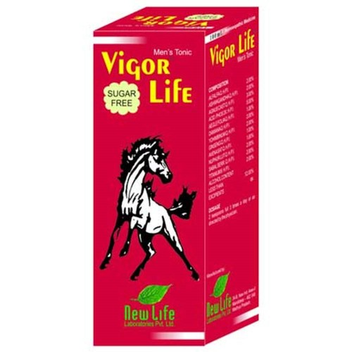 New Life Vigor Life Syrup (100ml) : Helps Regain Vigour, Vitality, Erectile Dysfunction, Premature Ejaculation