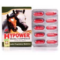 REPL Hy Power Musli Capsule (30caps) : Ayurvedic product to naturally increase Energy in Male, helps in Delayed Erections
