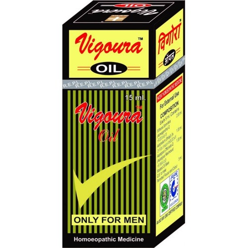REPL Vigoura Oil (15ml) : Massage Oil to Enhance Erections, restores stamina in men