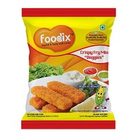 Foodix Crispy Fry Mix Veggies-60 Gram (pack Of 7)