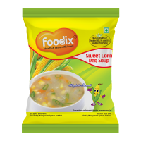 Foodix Sweet Corn Soup Mix -12g (pack Of 10)