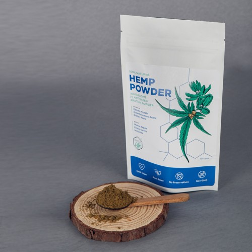 Boheco Life Raw Shelled Hemp(cannabis Sativa L.) Seed Powder 600g