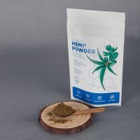 Boheco Life Raw Shelled Hemp (Cannabis Sativa L.) Seed Powder 100g