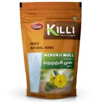 Killi Caltrops | Nerunji Mull | Gokhru | Nerinjil | Cinnapalleru | Neggilu Mullu Crushed, 100g