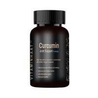 Vitaminhaat Curcumin Joint Support Formula With Akba, Ginger, Piperine