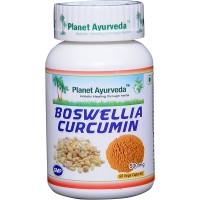 Planet Ayurveda's Boswellia Curcumin Capsules (60) - Anti Inflammatory