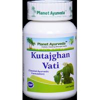 Planet Ayurveda's Kutajghan Vati Pills (120) - Diarrhoea