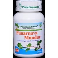 Planet Ayurveda's Punarnava Mandur Pills (120) - Kidney Health
