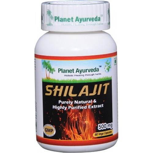 Planet Ayurveda's Shilajit Capsules (60)