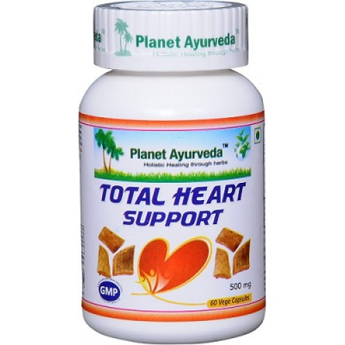 Planet Ayurveda's Total Heart Support Capsules (60)