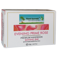 Planet Ayurveda Evening Prime Rose Premium Handmade Bathing Bar 125gm (2 Bars)