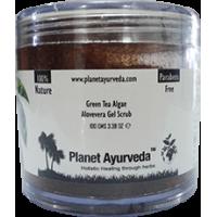 Planet Ayurveda's Green Tea Algae Aloe-vera Gel Scrub
