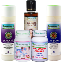 Planet Ayurveda Hair Care Pack