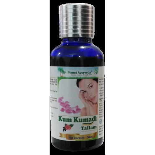 Planet Ayurveda's Kumkumadi Oil 30 Ml - Skin Lightening, Blemishes