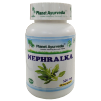 Planet Ayurveda Nephralka Capsules - 60 Capsules (500mg Each)