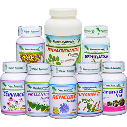 Planet Ayurveda Revive Kidneys Pack For Advance Stages