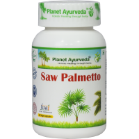 Planet Ayurveda's Saw Palmetto Capsules (90 Capsules Each) - Helpful in management of Prostate enlargement