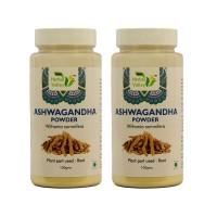 Ashwagandha Powder 100g Each (pack Of 2) By Indian Herbal Valley