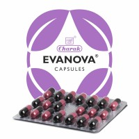Charak Evanova Capsule For Smooth Transition From Perimenopause To Menopause 20 Capsules
