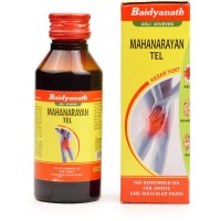 Baidyanath Mahanarayan Tail (50ml) : Relieves Muscular and Rheumatic Pain, Weakness Of Limbs, Gout, Knee and Back Pain