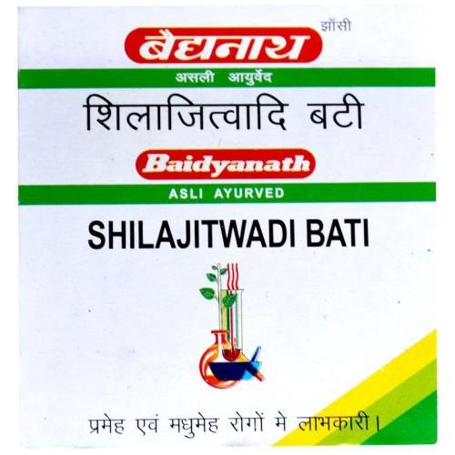Baidyanath Shilajeetwadi Vati (Ordinary) (20tab) : Iron Deficiency, Anemia, Respiratory Disorders, Maintain Blood Sugar