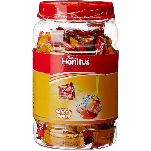 Dabur Honitus Cough Drops (300Sachet) : Natural ingredients in a candy formulation to provide relief from cough and bad breath