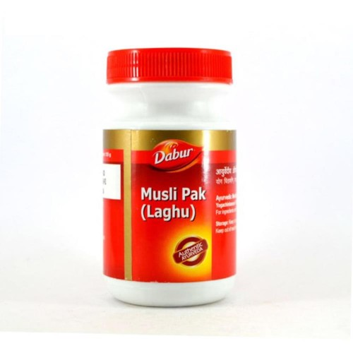 Dabur Laghu Musali Pak Granule (125g) : Ayurvedic formulation for the overall well being of people