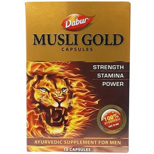 Dabur Musli Gold Capsules (10caps)