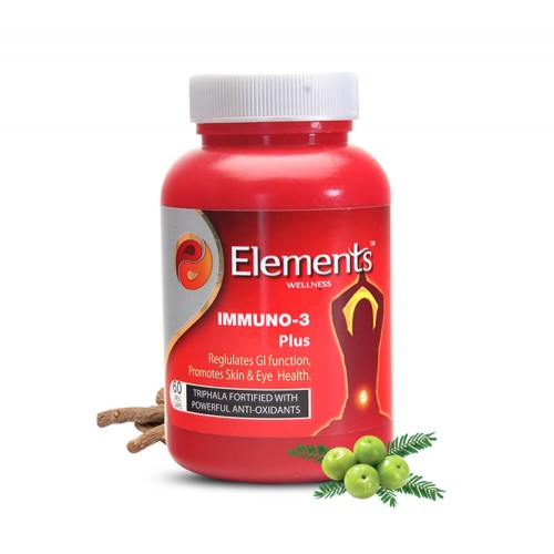 Elements Immuno 3 Plus | 60 Tablets | Immunity Booster