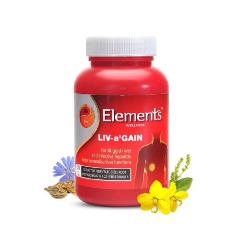 Elements Liv-a'gain | Ayurvedic Liver Capsules