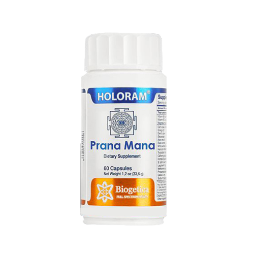Holoram Prana Mana 60 Capsules - Depression, Immune Health, Fibromyalgia & Sciatica