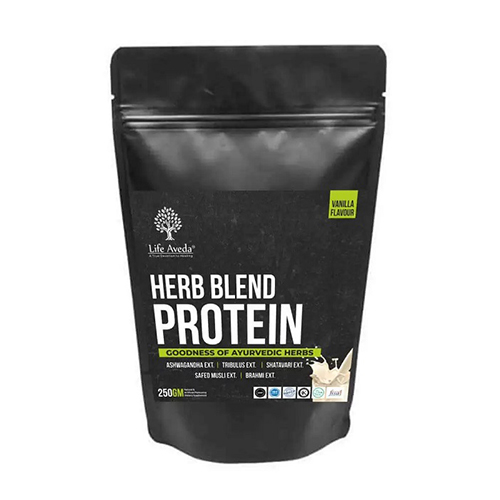 Life Aveda Herb Blend Protein (Vanilla Flavour) 250 gm