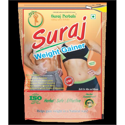 Suraj Weight Gainer (pure Herbal, Gain 3-5kg Weight)