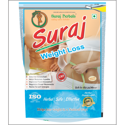 Suraj Weight Loss (pure Herbal, Loss 3-5kg Weight)