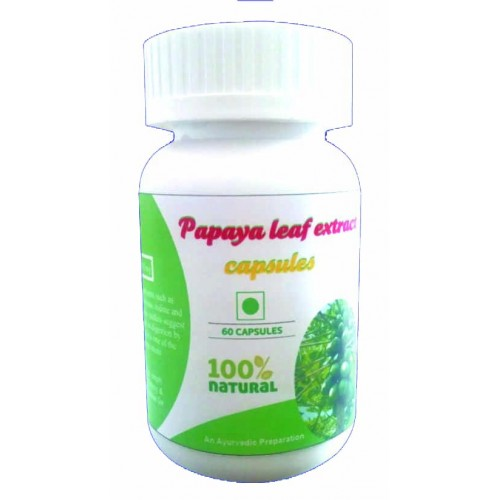 Hawaiian Herbal Papaya Leaf Extract Capsule - 60 Capsules