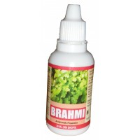 HAWAIIAN HERBAL BRAHMI DROPS , HAWAII, USA - 30 ML