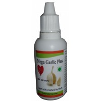 Hawaiian Herbal Mega Garlic Plus Drops , Hawaii, Usa - 30 Ml