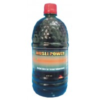 Hawaiian Herbal, Hawaii, USA - Muslee Power Juice  400 ml Bottle